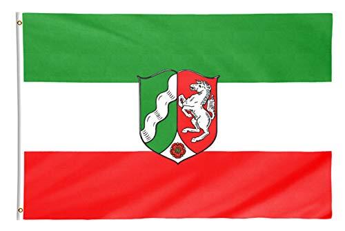 Star Cluster 90 x 150 cm Nordrhein-Westfalen Flagge (NRW)