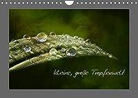 Kleine, grosse Tropfenwelt (Wandkalender 2022 DIN A4 quer): Wellness fuer jeden Tag (Monatskalender, 14 Seiten )