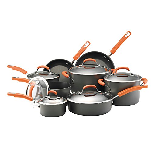 Rachael Ray Hard Anodized - 14Pc Set