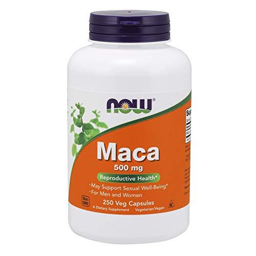 NOW Supplements, Maca (Lepidium meyenii)500 mg, 250 Veg Capsules