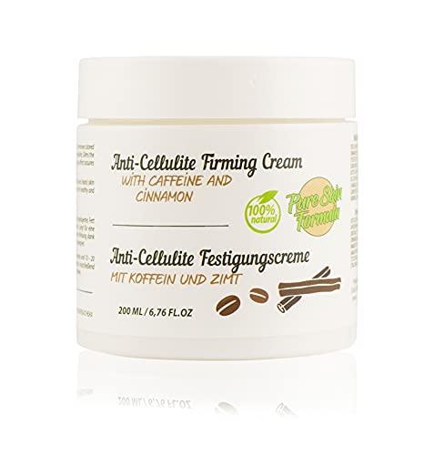100% natürliche Anti-Cellulite-Creme mit Kaffee und Zimt. Straffende Creme für Körper, Hals, Hände, Beine und Bauch. Straffung und Glättung der Haut. Abnehmen,...