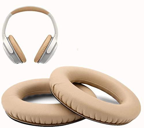 Oreillette Bose AE2/AE2W/QC25 Coussinets de Remplacement, WADEO Coussin d'oreille en Mousse 2 pièces (Khaki)