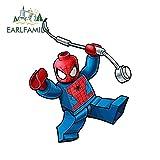 A/X Autocollants 13 cm x 10,7 cm Autocollants de Voiture Spider Man Web Slinging Super Hero Marvel Vinyle Autocollant étanche Voiture Style Graphique