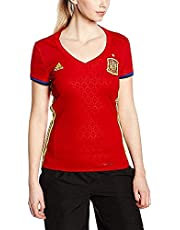 adidas 1ª Equipación Federación Española de Fútbol 2016/2017 - Camiseta Oficial Mujer