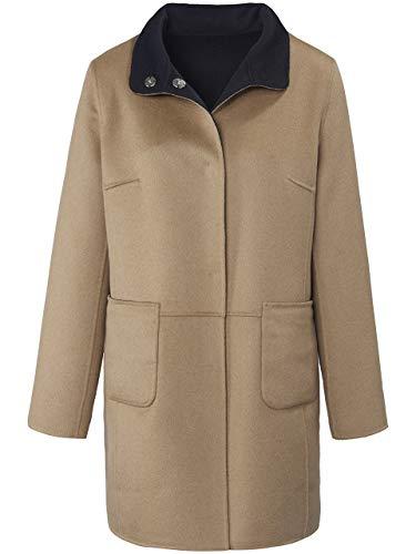 Basler Damen Mantel in Uni-Design zum Wenden