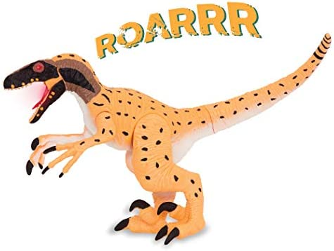 Terra by Battat Electronic Dinosaur with Light Sound Utahraptor Toy for Kids Age 3 product image