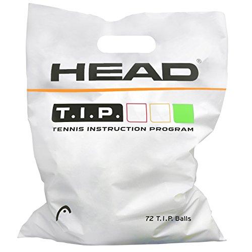 HEAD Tip grün Tennisball, Gelb, Einheitsgröße