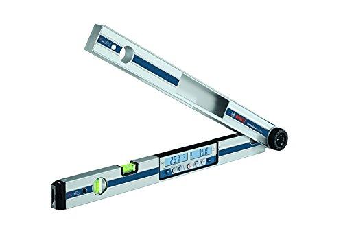 Bosch Professional Digitaler Winkelmesser und Neigungsmesser GAM 270 MFL (Laserpräzision, Gehrungswinkelberechnung, Schenkellänge: 0 - 270º, Länge: 60 cm)