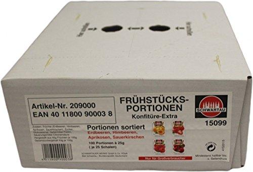 Schwartau Schwartau konf.sort.100x25g 9000, 1er Pack (1 x 2.5 kg)