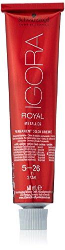 Schwarzkopf IGORA Royal Premium haarkleur 5-26 lichtbruin as choco, per stuk verpakt (1 x 60 g)