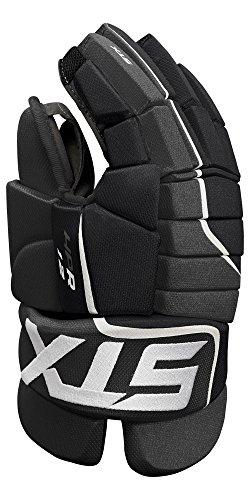 STX Ice Hockey Stallion HPR 1.2 Senior Ice Hockey Glove, Black/Black, 13'