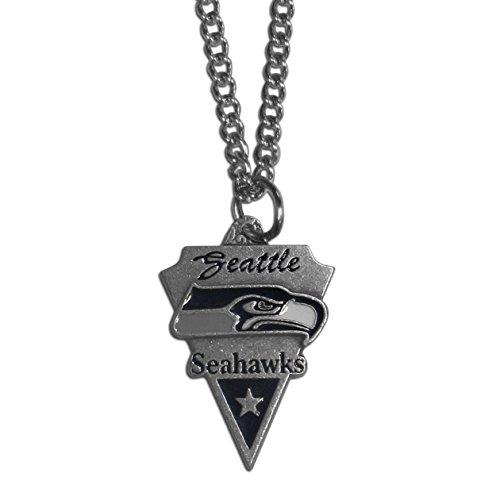 Siskiyou NFL Sports Fan Shop Seattle Seahawks Klassische Halskette 55,9 cm Team-Farbe