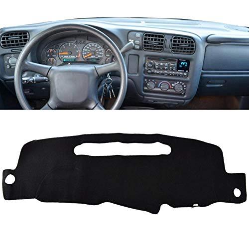 TPHJRM Dash Mat Dashmat Dashboard-Abdeckung Sun Shade Dashboard-Abdeckung Teppich, für Chevrolet S10 Pickup Blazer Mini 1998-2003 2004