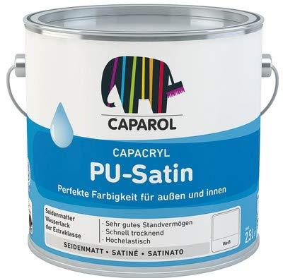 Caparol Capacryl PU-Satin hochwertiger, PU verstärkter Acryllack 2,500 L