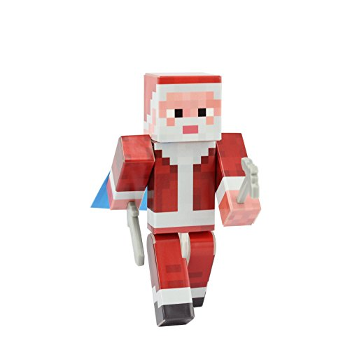 EnderToys Santa Claus Action Figure Toy, 4 Inch Custom Series Figurines