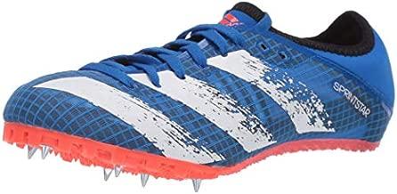 adidas Men's Sprintstar m Running Shoe, Glory Blue/White/Solar Red, 7.5