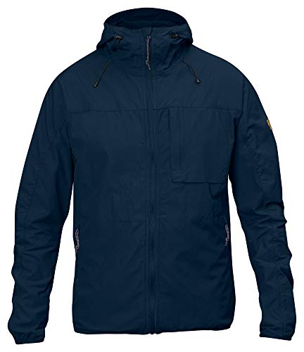 Fjällräven Herren High Coast Wind Jacket Anorak, Navy, L