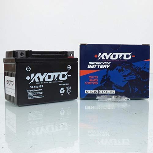 Kyoto - Batteria per scooter Kymco 50 Sniper 1993-1996 GTX4L-BS SLA / 12V 3Ah