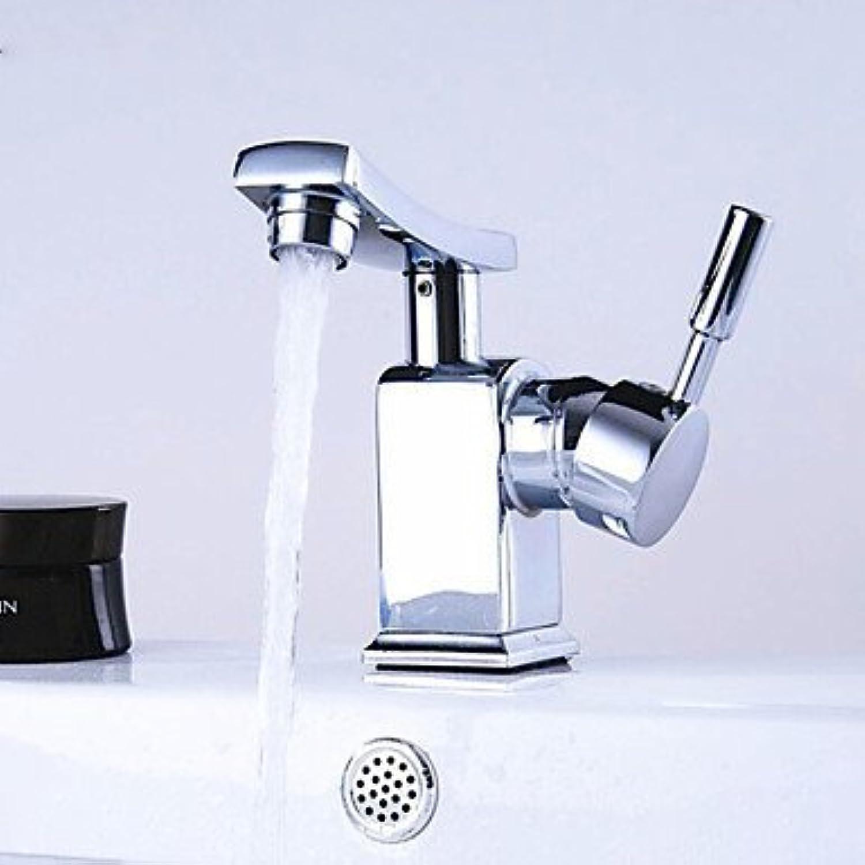 SEBAS Home Waschtischarmatur Messing Einhebel-Waschtischarmaturen (verchromt) Wasserhahn Beckenmischer