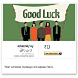 Good Luck (Group gifting) - E-mail Amazon Pay Gift Card Amazon Pay Gift Cards are valid for 365 days from the date of purchase and carry no fees. Gift cards have great designs for every occasion. Customers can write down their personal wishes for the...