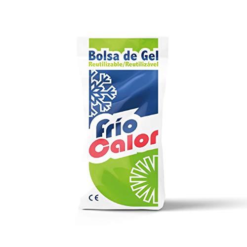 Bolsa de Gel Frío-Calor Reutilizable 13x27cm. Fabricación Nacional