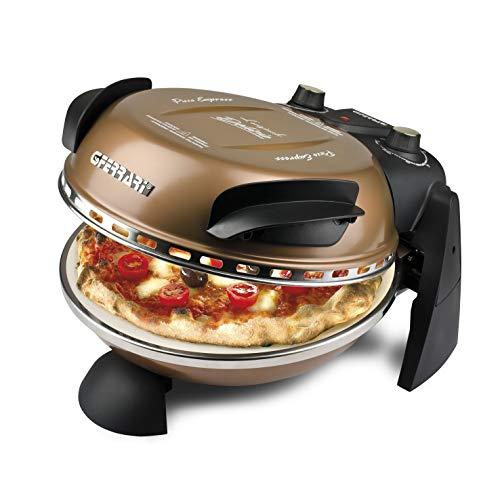 Foto von G3Ferrari G1000608 Delizia Pizzamaker, 1200, lackiertes Metall, 1 Liter, Kupfer