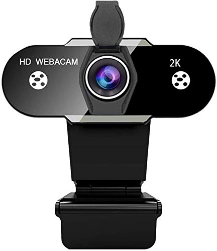 Webcam with Microphone, 2K truTECH MX-PRO 2 Camera. Auto Focus. Great for Zoom Calls. Works Best on a Laptop. Livestream 2560 x 2048p with 5 Megapixel Streaming at 30fps