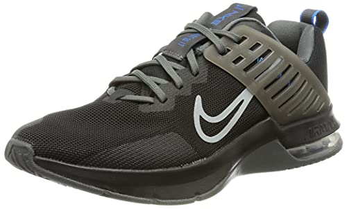 Nike Air MAX Alpha TR 3, Zapatillas Hombre, Black/LT Smoke Grey-Photo Blue-Iron Grey, 41 EU