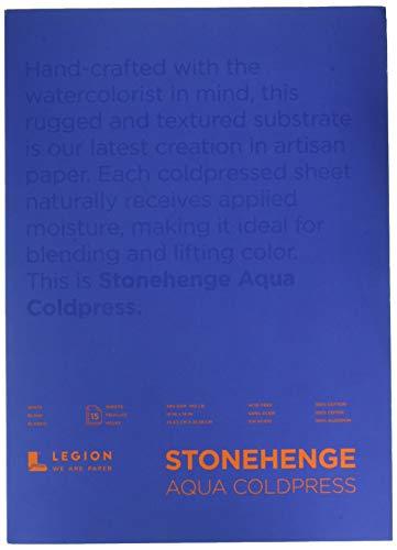 Stonehenge Aqua Aqua Watercolor, 10 X 14, Multicolor
