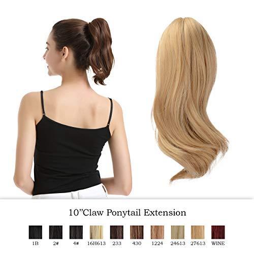 Barsdar 10 Inch Ponytail Hair Extensions Buy Online In Albania At Desertcart