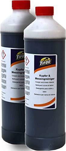 Kupferreiniger/Messingreiniger (2000 ml) - Metall reinigen, Politur, Tauchbad