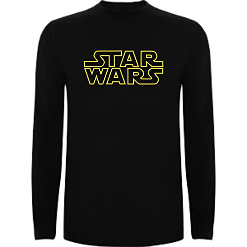 Camiseta Manga Larga de Mujer Star Wars Dark Vader Han Solo Fuerza Moul Leia XL