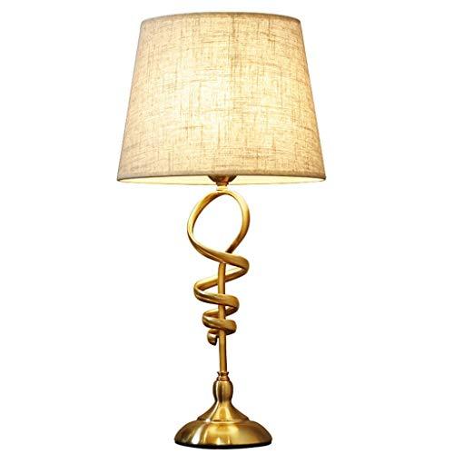 Iluminación de interior Lámpara de cabecera del dormitorio lámpara de escritorio romántica creativa minimalista moderna pantalla de cristal lámpara de mesa Lámpara eléctrica plug-in de la lámpara de A