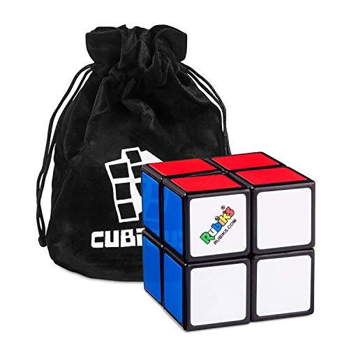Rubik's Cube 2x2 – Der Originale 2x2x2 Klassiker Rätselspiel Zauberwürfel mit Beutel