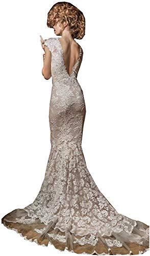 Vestido De Novia Espalda Descubierta Sirena