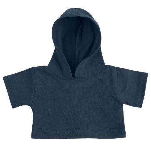 Mumbles Bär Kollektion Teddy Hoodie (Medium) (Marineblau)