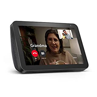 Echo Show 8 -- HD smart display with Alexa – stay connected with video calling - Charcoal (B07PF1Y28C) | Amazon price tracker / tracking, Amazon price history charts, Amazon price watches, Amazon price drop alerts