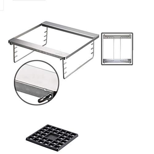 41YN1wLF5XL. SL500  - WZHZJ Metall Outdoor Grillzubehör, Folding Barbecue-Ofen Barbecue Licht Holzkohlegrilgrill Non Stick im Freien