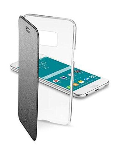Cellular Line Starre Schutztasche mit Klappe Book-Style für Samsung Galaxy S6 transparent