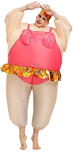 N\A ZT S Baile Baile Disfraz Inflable Da de San Valentn Partido Halloween Christmas Carnival Disfraz de Dibujos Animados Dibujos Animales Drive Traje Regalo 160-190cm