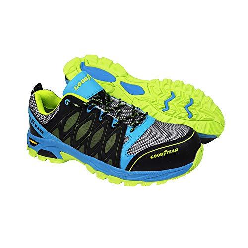 Goodyear GYSHU1503 - Zapatillas de seguridad para hombre, Multicolor, 42 EU (8 UK)