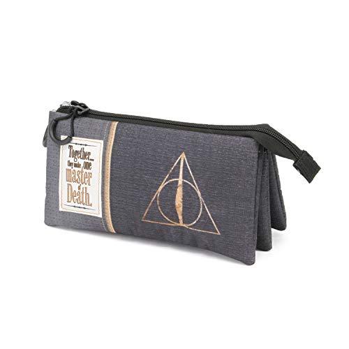 Karactermania Harry Potter Deathly Hallows-drievoudig HS etui 24 cm meerkleurig