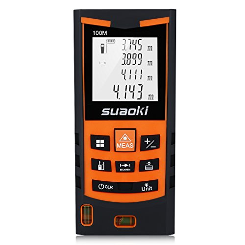 Suaoki S9 100M Misuratore Laser Metro Laser Professionale in M/In/Ft con 2...