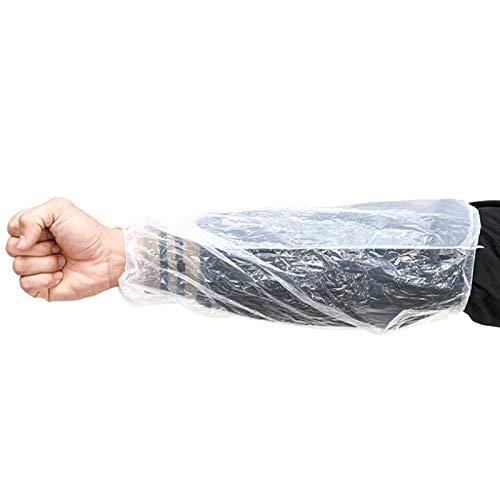 [SCGEHA] 使い捨て アームカバー 腕カバー アームスリーブ 防水 汚れ防止 防水カバー 100枚