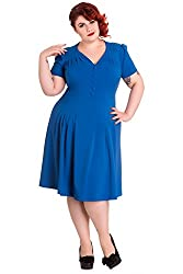 Hell Bunny plus size Lady Moria Tea Dress