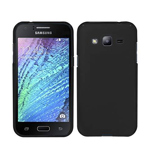 TBOC Custodia Gel TPU Nera per Samsung Galaxy J3 (2016) - Samsung Galaxy J3 in Silicone Ultra Sottile e Flessibile