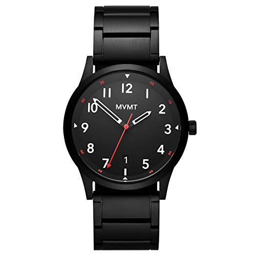 MVMT Field Collection | Men's Watch | Black Plated Steel