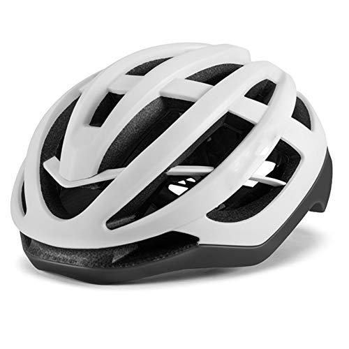 Casco de bicicleta, ciclismo unisex súper ligero moldeado integralmente dentro de bicicleta eléctrica MTB bicicleta de montaña aero casco casco de seguridad transpirable moda hebilla magnética cas