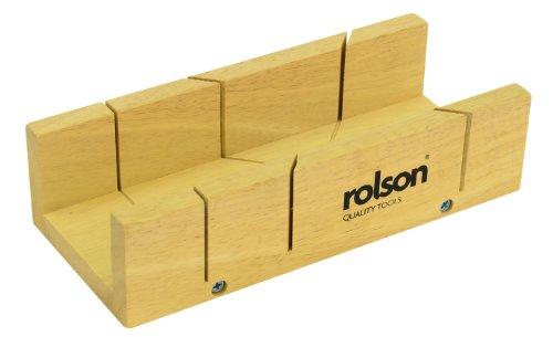Rolson 56429 - Caja de ingletes (tamaño: 230mm)