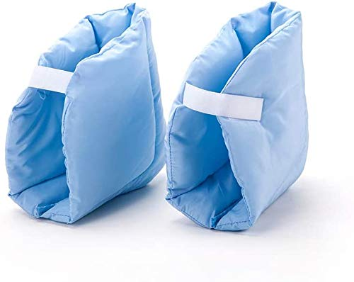Heel Pillow Pads Ankle Cushion Protector Foot Wrapping Guards Protecting Boots, Pack of 2